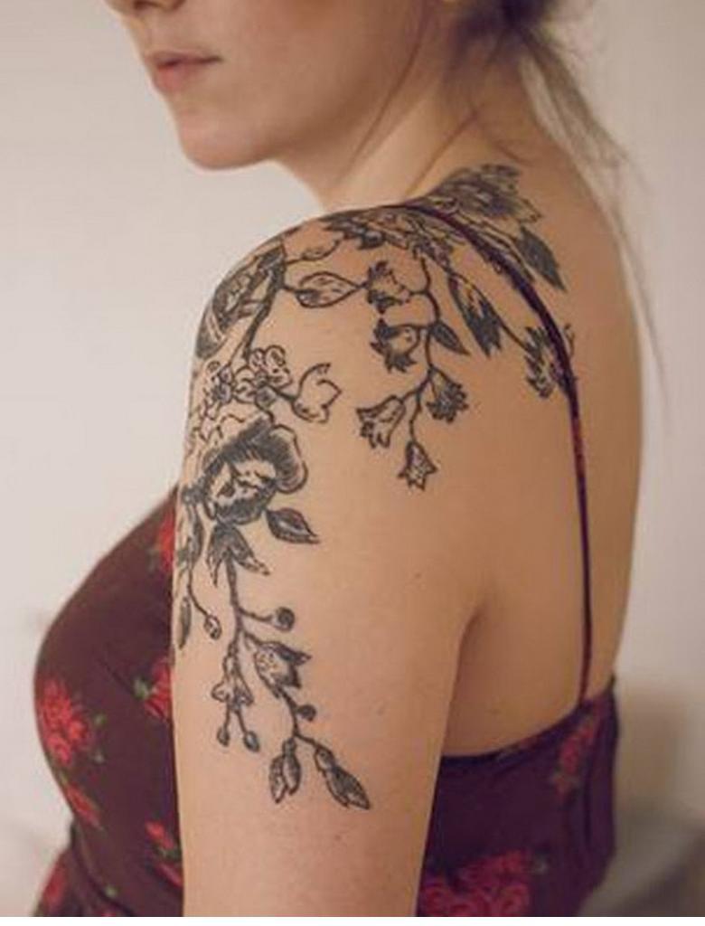 Kadınlarda İlginç Dövme Modelleri