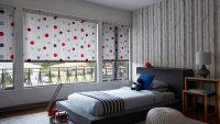 Şık ve Yeni Yatak Odası Perde Modelleri