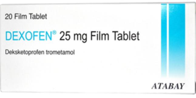 Dexofen 25 mg Ağrı Kesici Neye İyi Gelir?