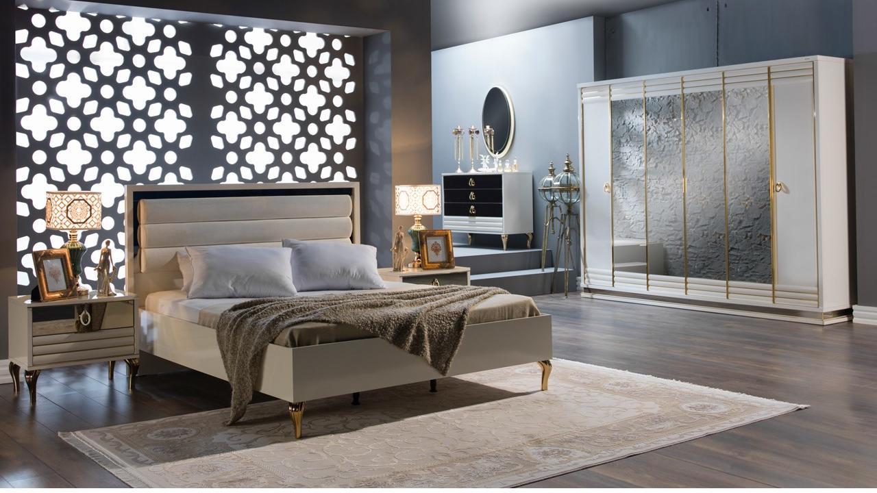 Yeni k ve estetik stikbal elite yatak odas tak m for Mobilya yatak odasi