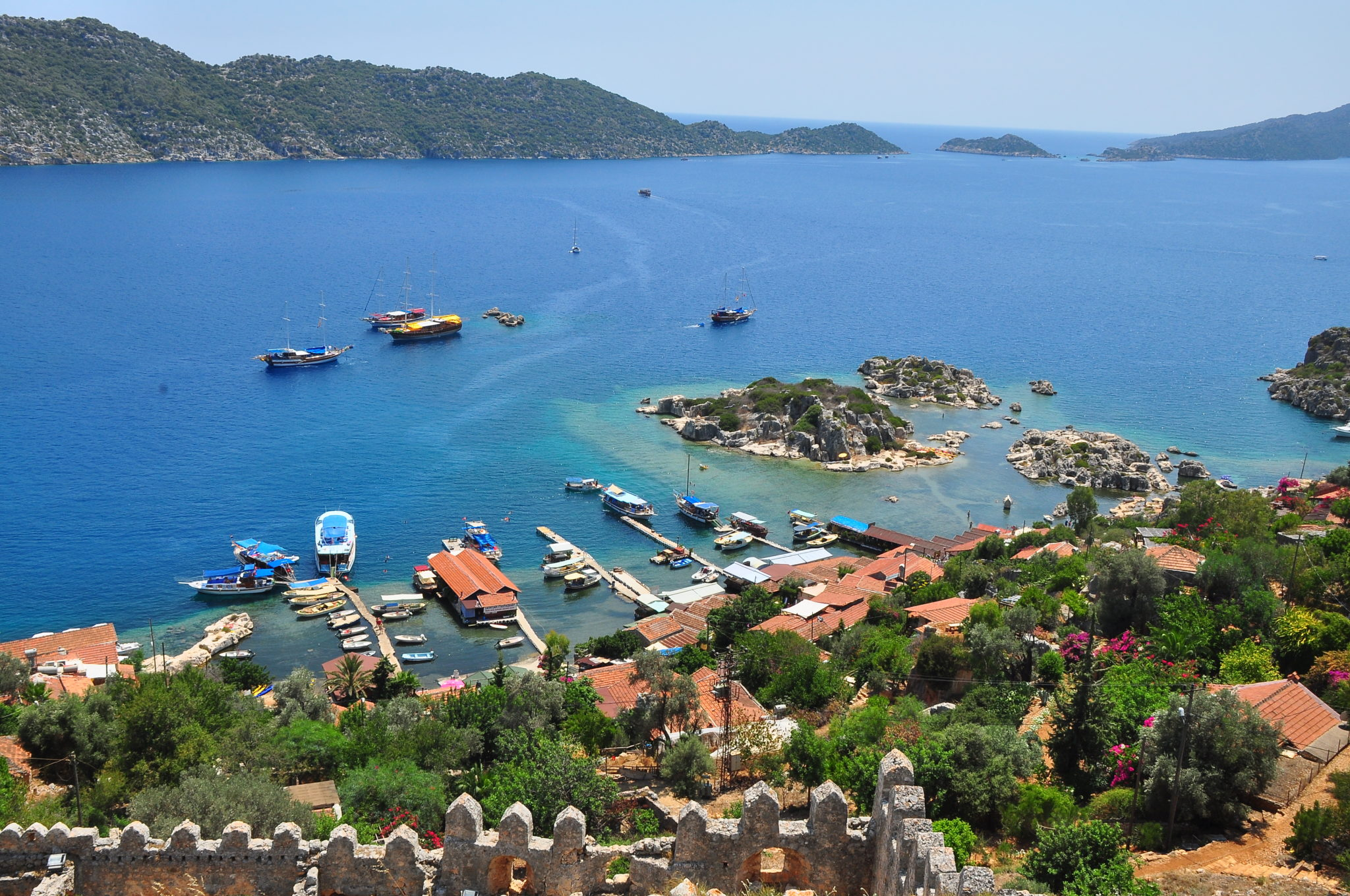 Antalya'nın Saklı Cenneti Kaş Gezilecek Yerleri , Plajları