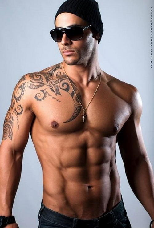 Yeni Trend;  Dövme Modelleri Erkek Omuz - Kol 2017