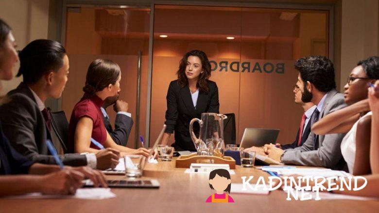 Kadınların Aktif Rol Aldığı Şirket Pozisyonları